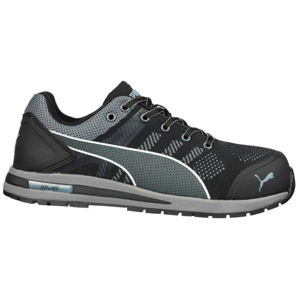 uk availability 50f98 3a644 Sicherheitsschuhe PUMA Elevate Knit Black Low S1P SRC HRO ESD